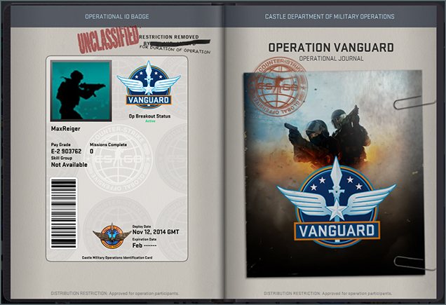 Operation ID Page