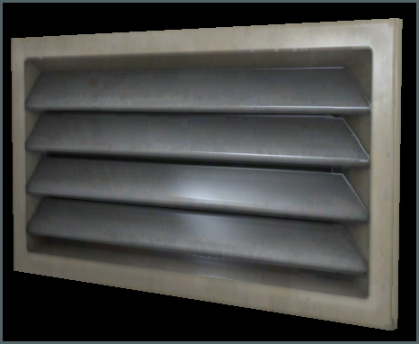 HVAC Duct B End Vent  01 Simple