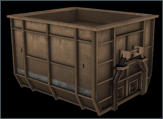 Dumpster A