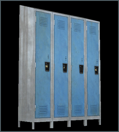 Lockers Long New