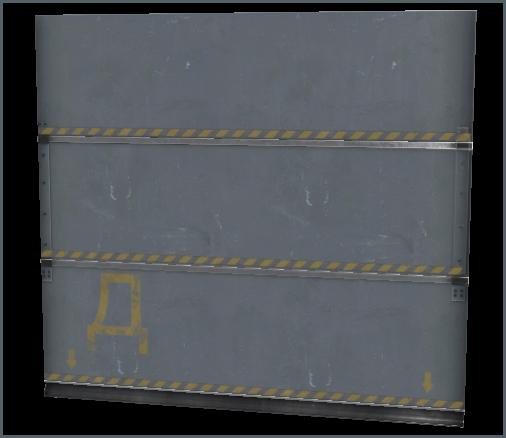 Metal Door C Door