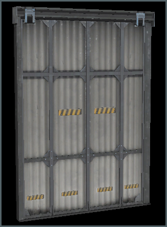 Metal Door D