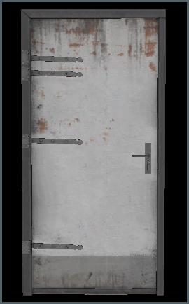 Metal Door  J