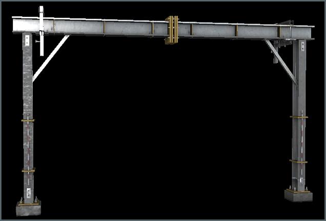 Metal Overhang A