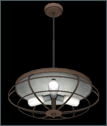 Train Light Fixture