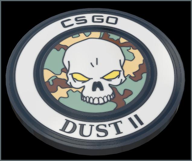 Dust 2 Pin