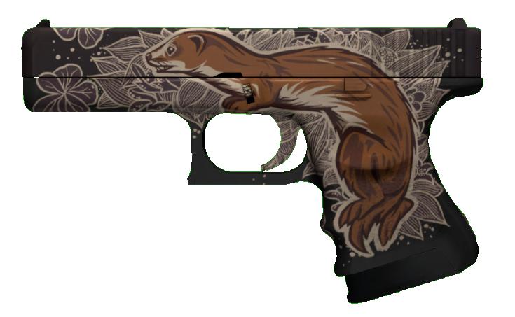 Glock18_Weasel_Green