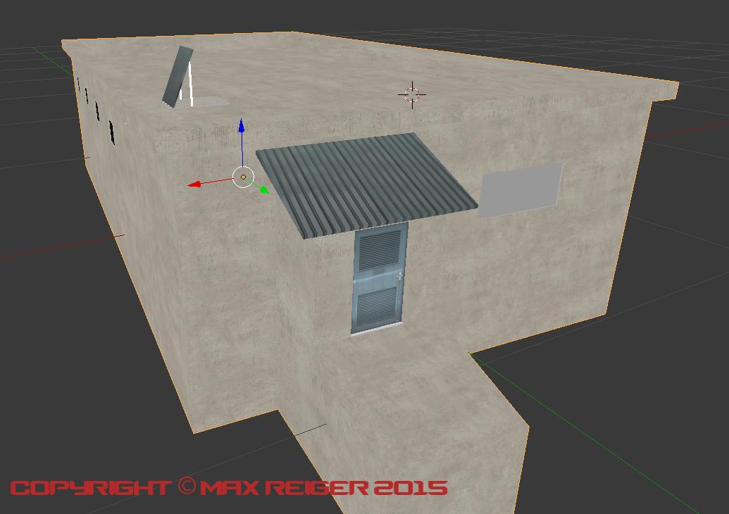 Jail's Intake + Cell Block