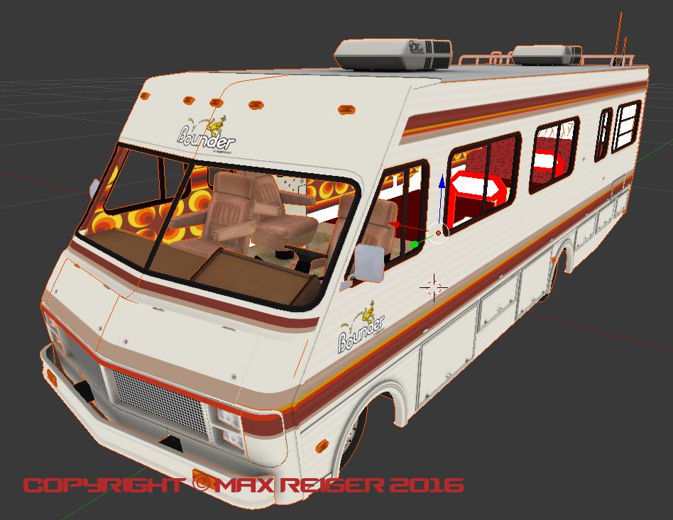 RV Bounder Camper