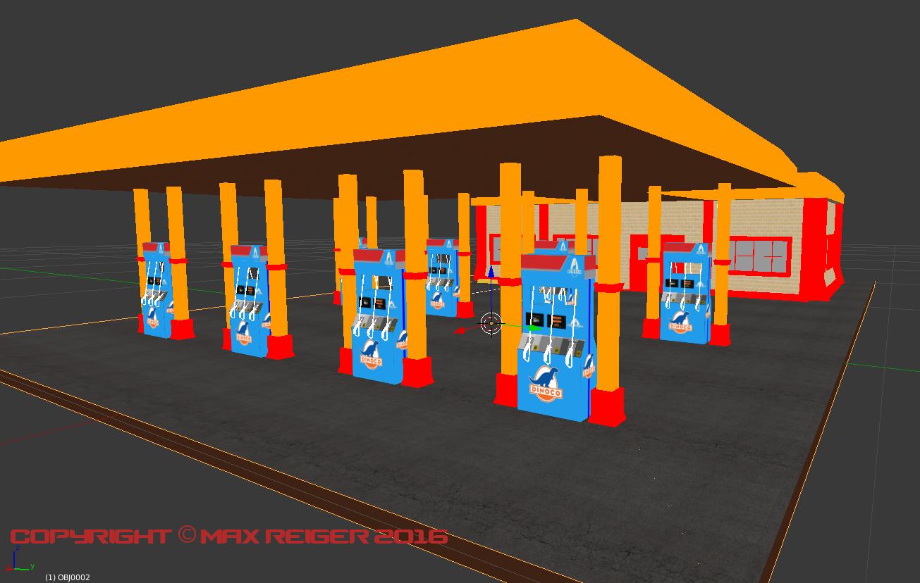 Dino Gas Station
